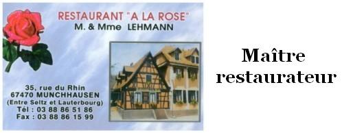 Restaurant à la Rose